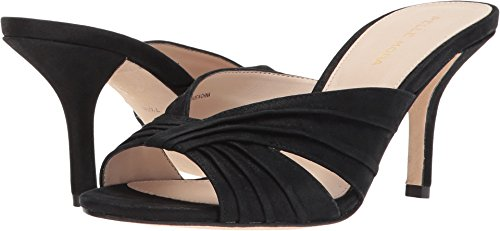 Shimmer Isla Suede Womens Pelle Black Moda nwCT8x
