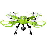 Flymemo H26W Headless Quadcopter with FPV WIFI Camera One Key Return 4CH 2.4G 6-Axis Gyro Green
