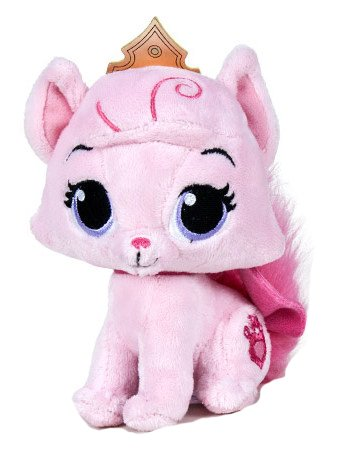 Disney - Peluche Mascotas Palace Pets - Beauty 15 cm (gato rosa)