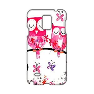 Evil-Store Cartoon lovely owl 3D Phone Case for Samsung Galaxy Note4