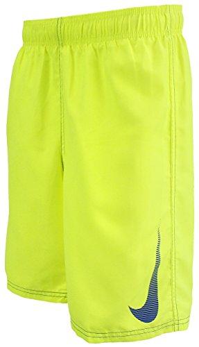 NIKE Boys Volley 4'' Swim Shorts - Yellow - Swim Boys Nike Trunks