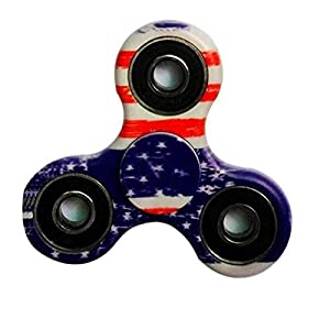 Balai Fidget Toy Hand Spinner Camouflage, Stress Reducer Relieve Anxiety and Boredom Camo (C)