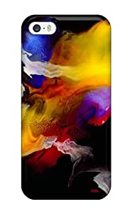 Top Quality Case Cover For Iphone 5/5s Case With Nice Abstract Painting Appearance