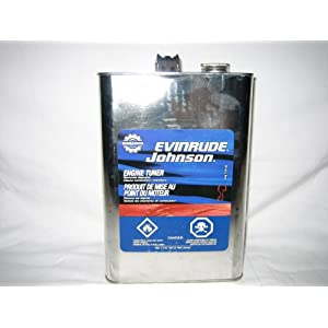 1 Gallon Bombardier Evinrude Engine Tuner Injector Cleaner De-Carbon