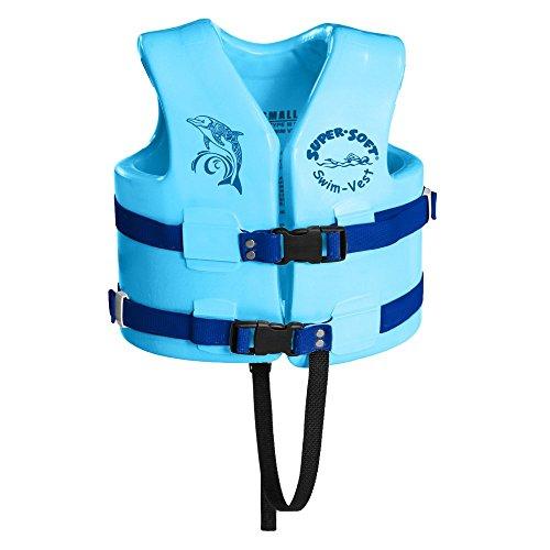 TRC Recreation Child Super-Soft USCG Vest, Marina Blue, Small
