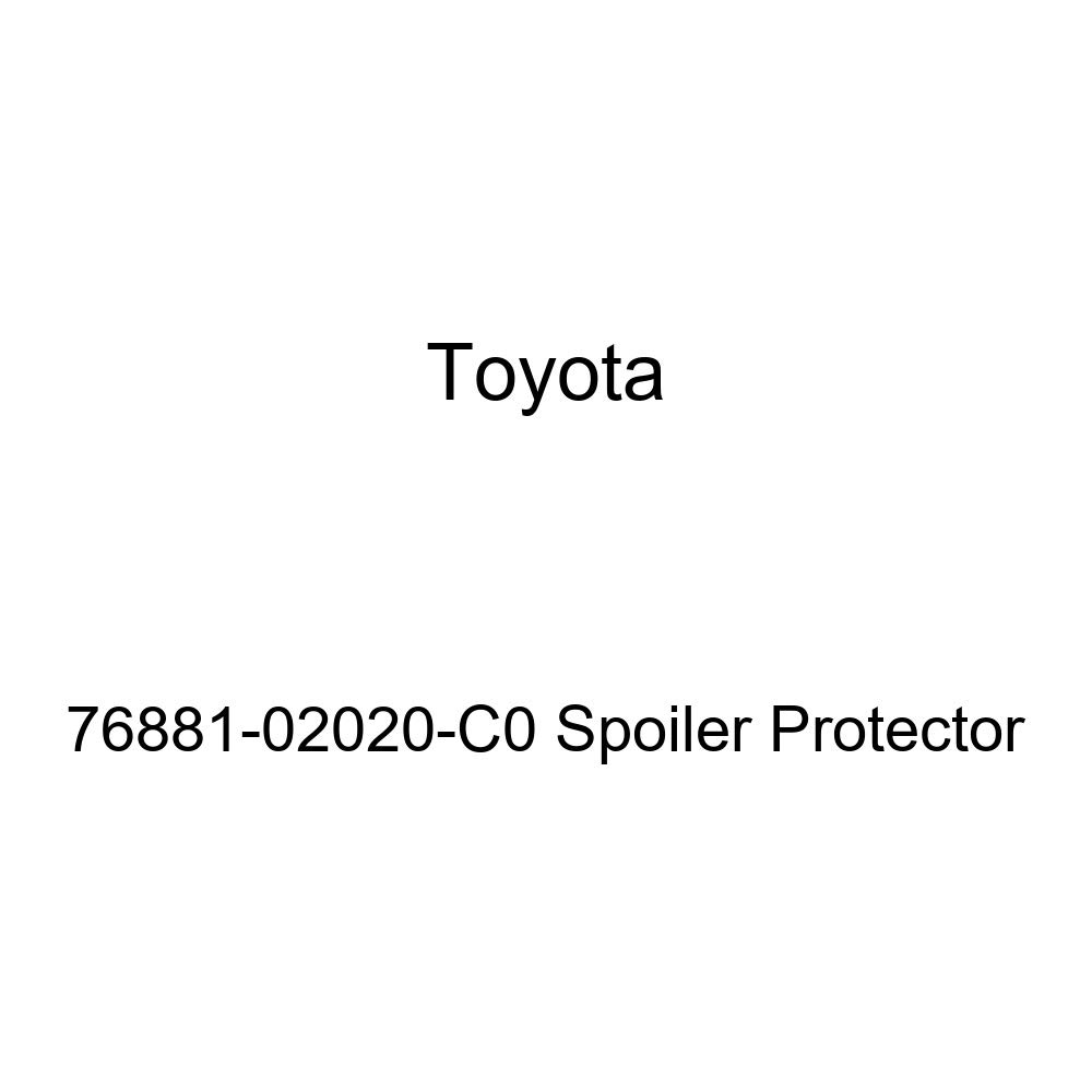 TOYOTA Genuine 76881-02020-C0 Spoiler Protector