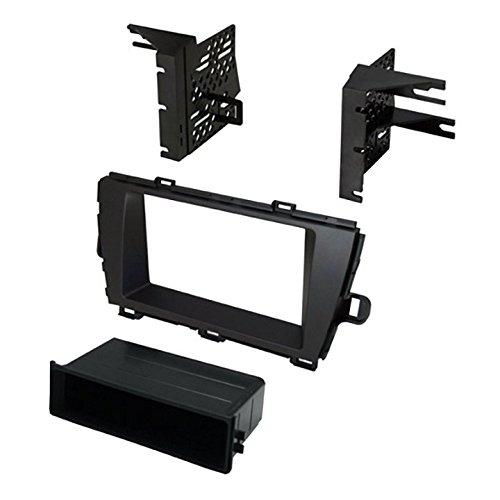 American International Car Install Kit Stereo Dash Mounting Kit For 2010-15 Prius Toyota - Black