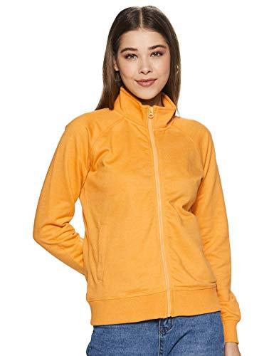 Amazon Brand – Symbol Women's Solid Long Sleeve Terry Sweatshirt