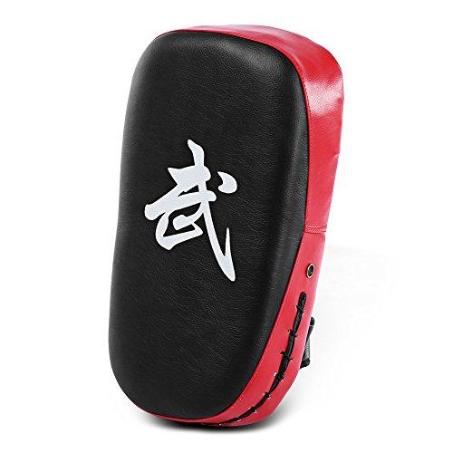 Najer PU Leather Muay Thai MMA Martial Art Boxing Karate Taekwondo Kick Target Punching Bag Pad Shield Training