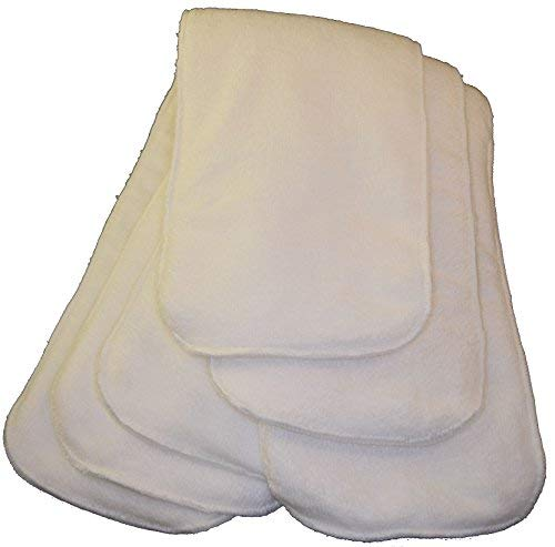 Day Cream Discontinued (Adult Cloth Diaper Insert Pads -3 Pack of Oversize (6x24) Liners for Adults (Charcoal Bamboo or White Microfiber) (White Microfiber))