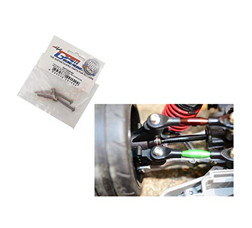 Reliable 1/10 GPM Racing 4-Tec 2.0#45 Hardened Steel Rear CVD Set SGT033R0BK for Traxaz Quick ()