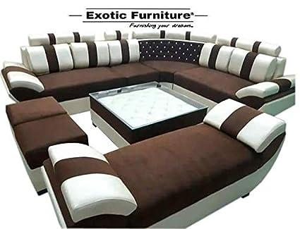 Generic Home Decorative Living Room Sofa Set Amazon In