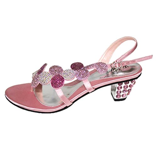 Pink Baby Verde W Sandali Arancio Mizra Royal 11 Party Rosa amp; Diamante Moda Serata Baby Bridesmaid Taglia Donna Blu 4 Oro Matrimonio argento wqBwFUH