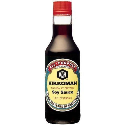 - Kikkoman Soy Sauce - 10 oz
