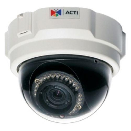 ACTI TCM-3511 DOME CAMERA,H.264,1.3MP,3.3-12 DAY/NIGHT 60-90'IR POE 12VDC
