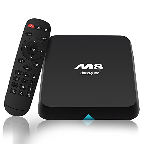 Goobang Doo M8 Quad Core Android Tv Box 2gb Ram 8gb Rom