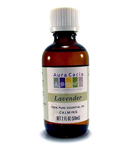 Massage Aromatherapy Aura Oil Cacia - Aura Cacia, Oil Lavender, 2 Fl Oz