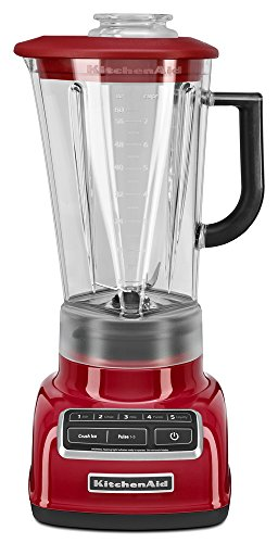 KitchenAid 5-Speed Diamond Blender with 60-Ounce BPA-Free Pitcher - Empire Red