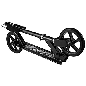 Goodfans Foldable 3 Levels Adjustable Height 2-Wheel Kick Scooter US Stock