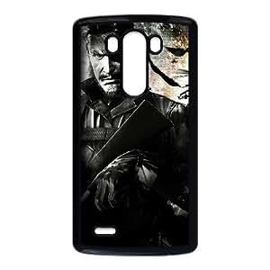 Metal Gear Solid 3 funda LG G3 Negro de la cubierta del teléfono celular de la cubierta del caso funda EOKXLKNBC28038