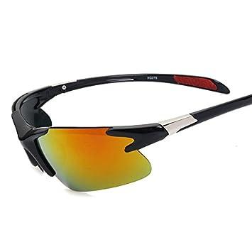 TIANLIANG04 Reborde Semi Para Hombres Gafas De Sol Polarizadas Gafas De Sol Gafas De Espejo Luz