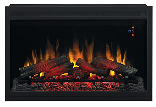 ClassicFlame 36EB220-GRT 36' Traditional Built-in Electric Fireplace Insert, 240 volt