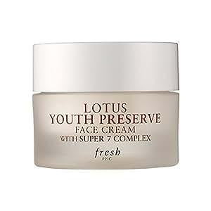FRESH Lotus Youth Preserve FACE Cream with Super 7 Complex 15ml/0.5oz