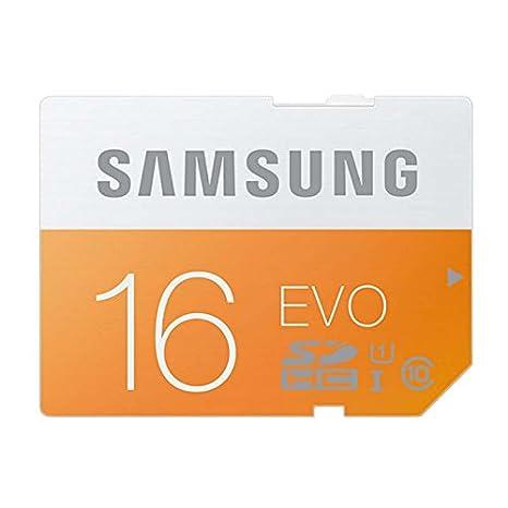 Tarjeta SD de 16 GB de EVO: Amazon.es: Hogar