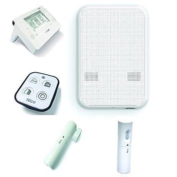 Kit Alarma Cableado y via Radio con combinador GSM Nice HSKIT2GC: Amazon.es: Bricolaje y herramientas