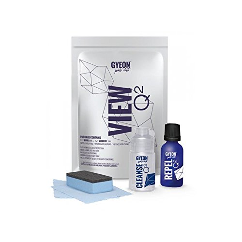 Gyeon Q² finestra Gass kit rivestimento idrorepellente resistente all' acqua.