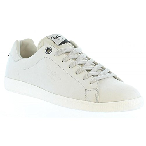 Chaussures de Sport Pour Homme Pepe Jeans PMS30281 Murray 803 Off White
