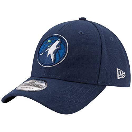 - New Era Minnesota Timberwolves Official Team Color The League 9FORTY Adjustable Hat Navy