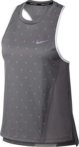 (Nike Women's Americana Running Tank Top (Gunsmoke, X-Large) )