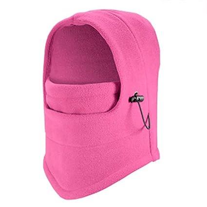 Dark Gray, Fleece Generic Windproof Fleece Neck Warm Balaclava Ski Full Face Mask for Cold Weather