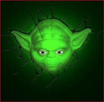 Yoda 3d deco superhero wall night light night lights amazon canada yoda 3d deco superhero wall night light mozeypictures Choice Image