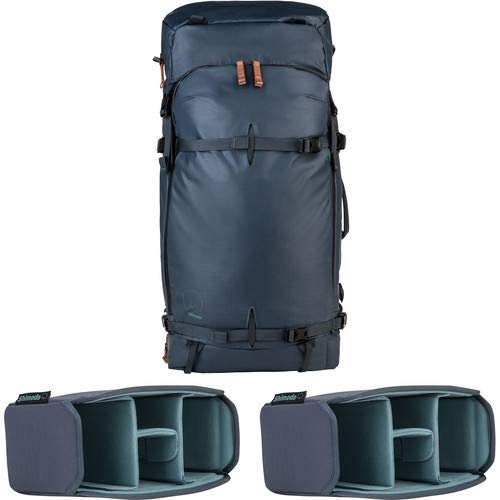 Explore 60 Backpack Starter Kit with 2 Small Core Units (Blue Nights) [並行輸入品] B07MQNCNBR