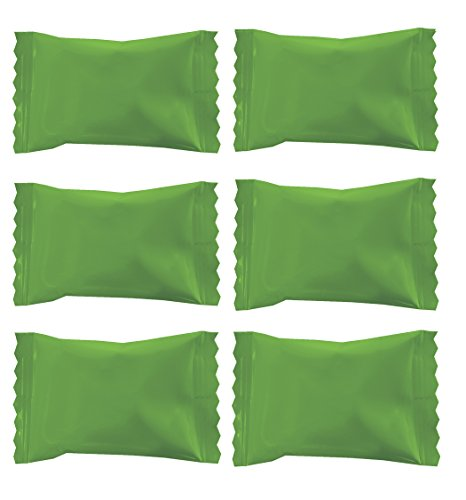 Party Sweets Wrapper Buttermints by Hospitality Mints, 7-Ounce Bag, Appx 50 Mints (Kiwi Green, 7 oz Bag) ()