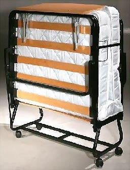 amazoncom luxurguest rollaway guest bed model 102 twin kitchen u0026 dining - Fold Away Bed
