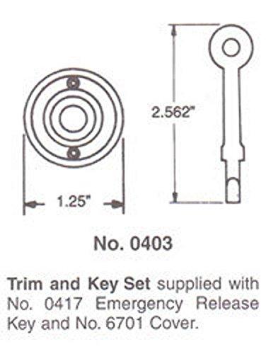 Home Improvement Black Top Notch Distributors Inc. Baldwin 0403190 E R Trim