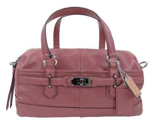 Authentic Coach Leather Convertible Satchel