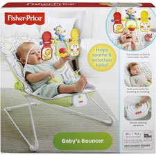 Fisher-Price Baby's Bouncer - Geo Meadow by Fisher-Price