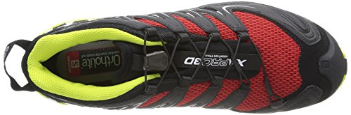 Salomon Heren Xa Pro 3d Trail Running Schoen Snel / Zwart / Gecko Groen