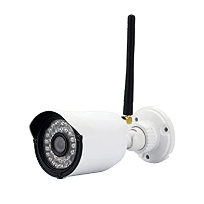Esunstar Security Waterproof Wireless WiFi Network IP Camera Webcam HD 1.0MP 720P Audio I/0 Motion Detection