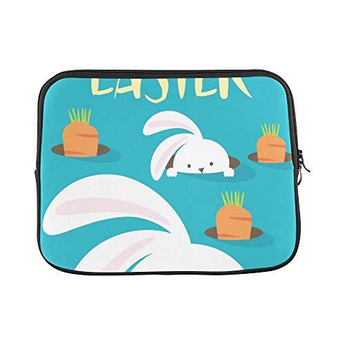 (Design Custom Easter Bunny Egg Hunt Template Sleeve Soft Laptop Case Bag Pouch Skin for Air 11