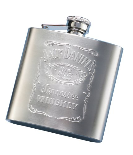 Jack Daniels Embossed Matte Flask