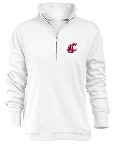 Alta Gracia NCAA womens /½ Zip Fleece Sweatshirt