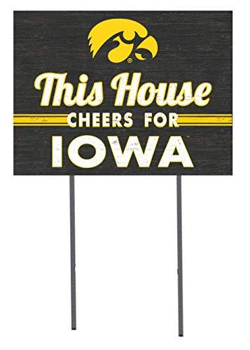 KH Sports Fan 18x24 Lawn Sign Iowa Hawkeyes