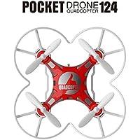 Quadcopter,Jinjin Mini Drone RC Quadcopter Micro Pocket Remote Control Headless UFO UAV Gift (red)