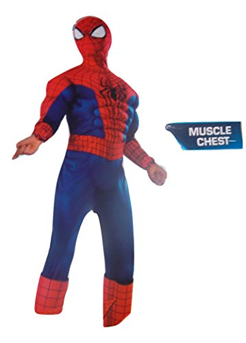 [The Amazing Spiderman 2 Child Size Costume with Miscle Chest] (Shooter Girl Costume)