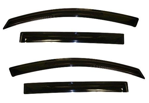 Auto Ventshade 94652 Original Ventvisor Window Deflector, 4 Piece - Kia Sportage Auto Body